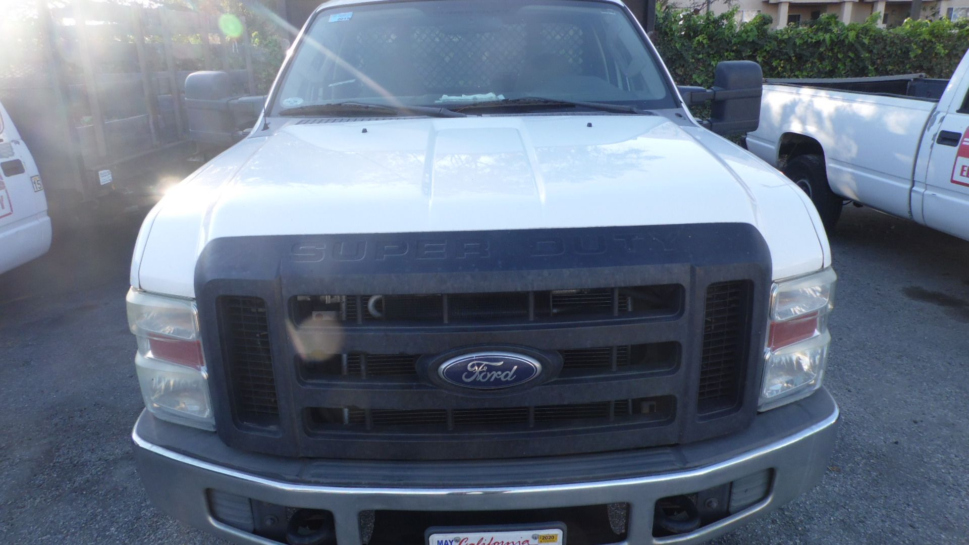 Lot 371 - 2009 FORD F350 12FT. STAKE BED