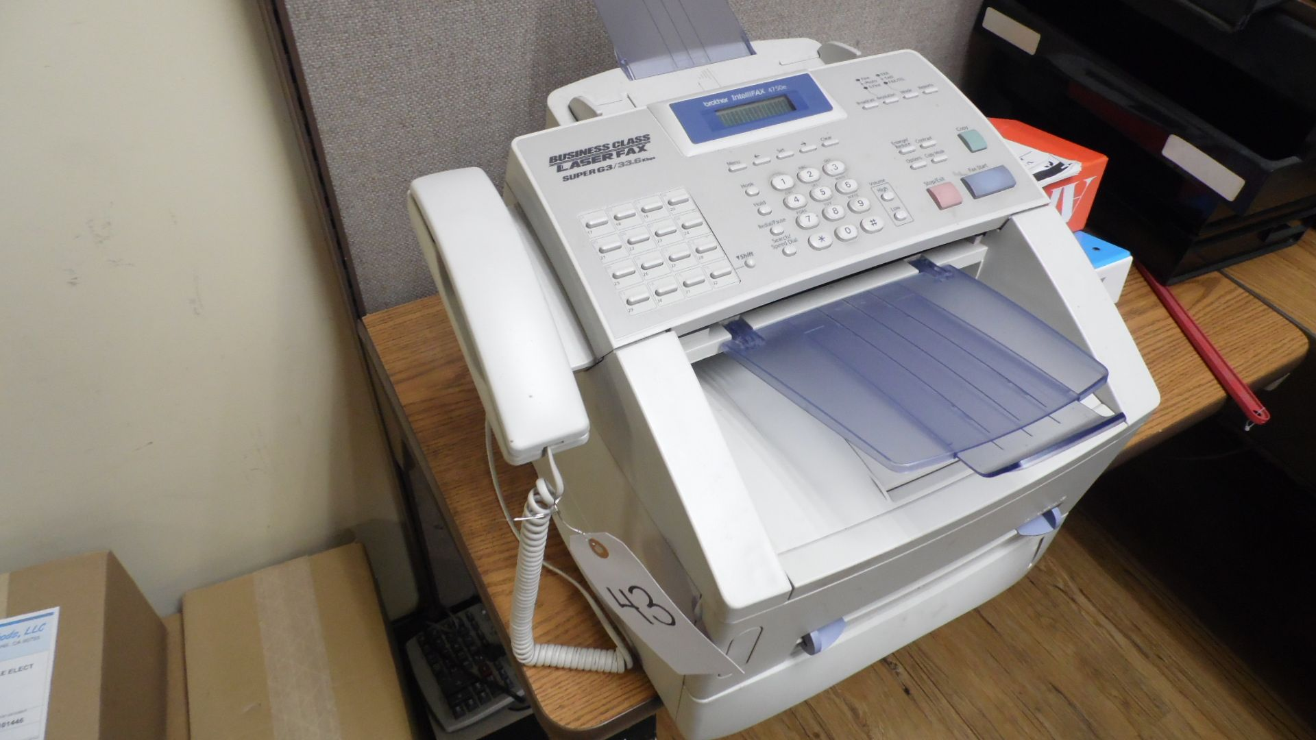 Lot 43 - BROTHER INTELLIFAX 4750E