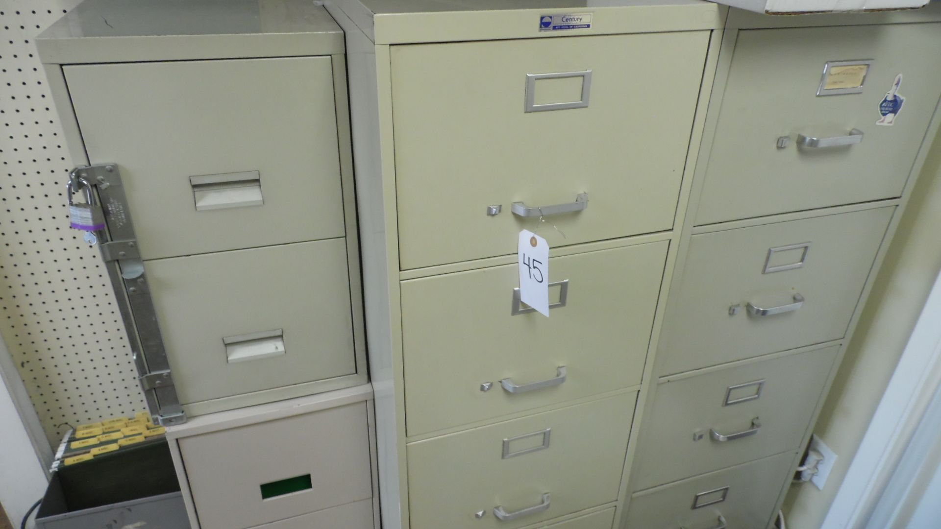 Lot 45 - ASSORTED FILE CABINETS