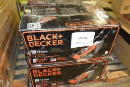 BLACK & DECKER LAWN MOWERS 20 IN CORDED (4)