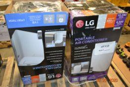 LG PORTABLE AC 8000 BTY(1), 10,200 BTU(1) (2PCS)