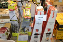 ASSORTED GAS TRIMMERS RYOBI, HOMELIFE(12)