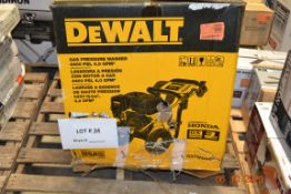 DEWALT GAS 4400 PSI PRESSURE WASHER