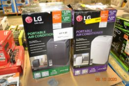 LG PORTABLE AIR CONDITIONER 12,000 BTU/LG 10,200 BTU PORTABLE AC