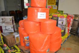 (16 ROLLS) ASSORTED SIZE BUBBLE WRAP