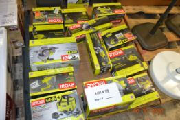 RYOBI-JIG SAW/HAMMER DRILL/CIRCULAR SAW/ANGLE GRINDER/BELT SANDER/VARIABLE SPEED DRILL/FINISHING
