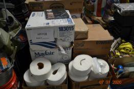 BATHROOM ITEMS TOILET PAPER, TOILET SEAT COVERS