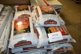 PALLET OF NATURE'S HEAT PELLETS 40 LBS PER BAG