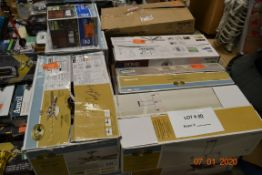 ASSORTED LOT CEILING FANS, LIGHTING