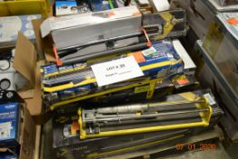 PALLET OF TILE CUTTERS