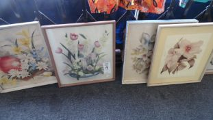 ASSORTED WATER COLOR PICTURES