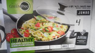 GREEN PAN & SAUTE PANS