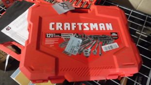121-PC. CRAFTSMAN SOCKET SET