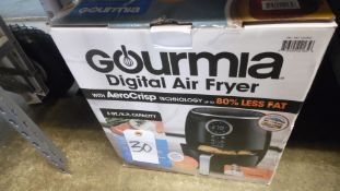 GOURMIA DIGITAL AIR FRYER ( QTY. 2 )