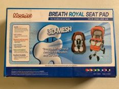 MANITO BREATH ROAYL SEAT PAD (Red) MADE IN KOREA QTY: By the each. 3 available.