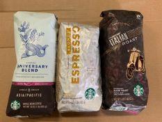 STARBUCKS WHOLE BEAN COFFEE (3 BAGS)
