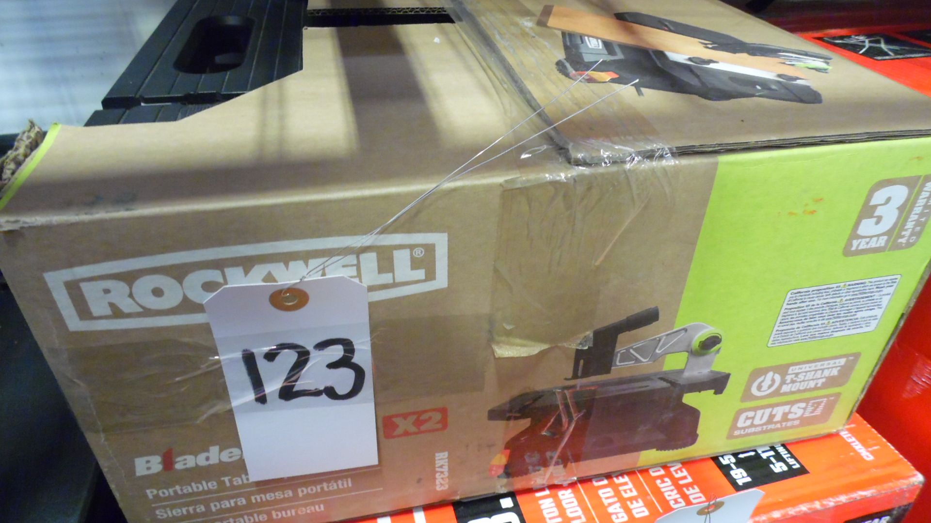 Lot 123 - ROCKWELL BLADE RUNNER TABLE SAW