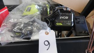 RYOBI SAW-ZALL w/ BATTERY & CHARGER (Tested, works}
