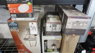 ASSORTED LIGHTING, SECURE HOME