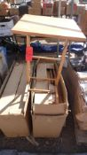 ASSORTED WOOD TV TRAYS