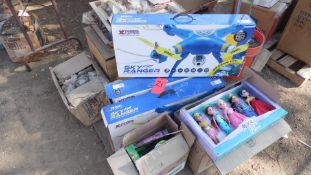 PALLET OF LALALOOPSY FASHIONS, MOXIE GIRL DOLLS, SKY RANGER DRONES