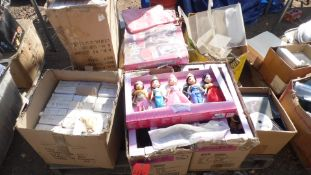 JELLY BAGS, STORYTIME PRINCESS DOLLS, FLYING CARDINALS BIRDS, DVD'S