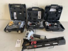 Dewalt, Porter + Cable, Husky Nailers, 4 Items