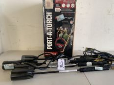 Port-A-Torch (no hoses), 4 Flame Thrower Torches