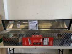 Craftsman Large Truck Box w/ Instructions, Mounting Hardware, Keys