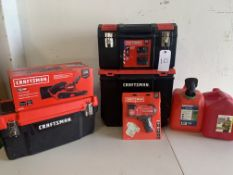 Craftsman Tools and Gas Cans, 7 Items