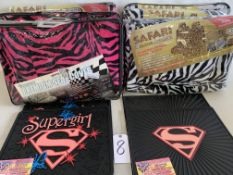 Safari Seat Covers and Supergirl Floor Mats (10 pcs)