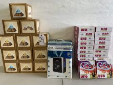 UFO Hovering Toys, Color Change Pyramid