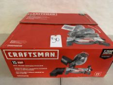 "Craftsman 10"" Folding Compound Miter Saw"