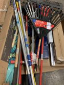Pallet of Long Handle Garden Tools