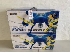XTREEM Sky Ranger Drones (4 pcs)