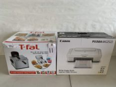 T-Fal Deep Fryer and Canon Printer/Copier/Scanner