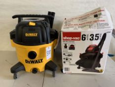 DeWALT and shop*vac Wet/Dry Vacuum (2)