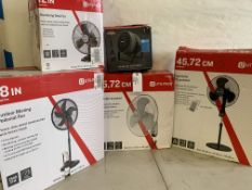 Utilitech and Vornado Fans (5)