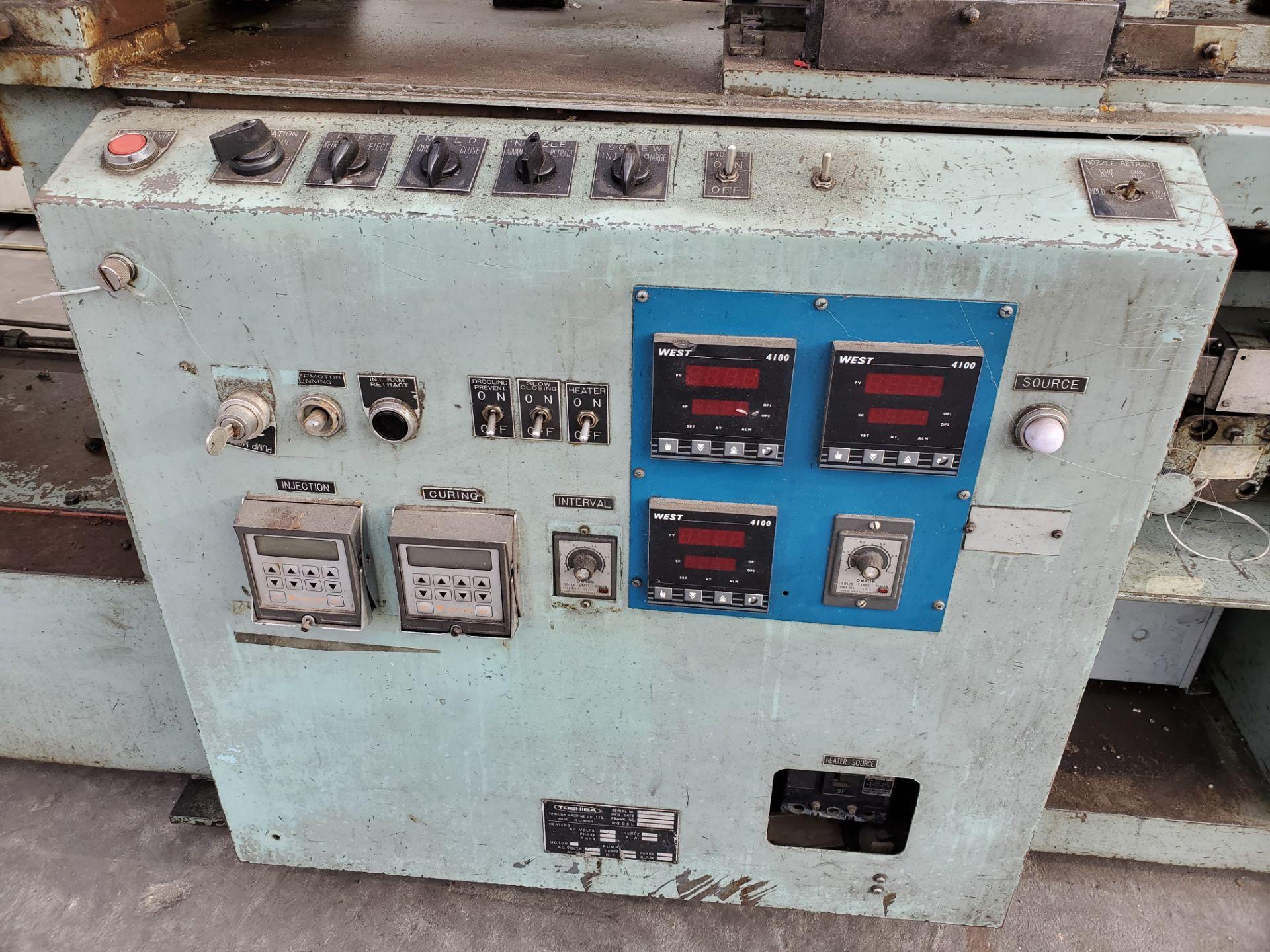 TOSHIBA ISS-85 INJECTION MOLDING MACHINE - Image 5 of 6