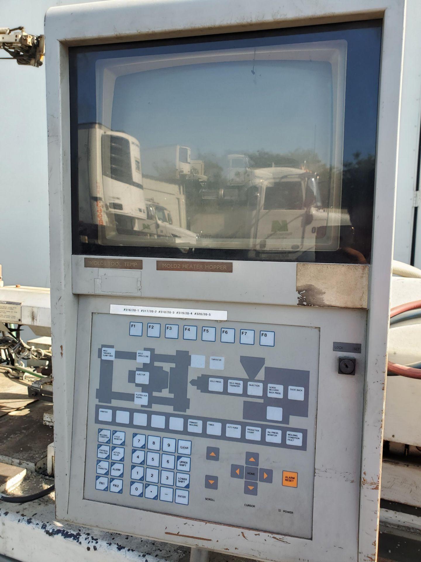 55 TON JSW J55E INJECTION MOLDING MACHINE - Image 4 of 5