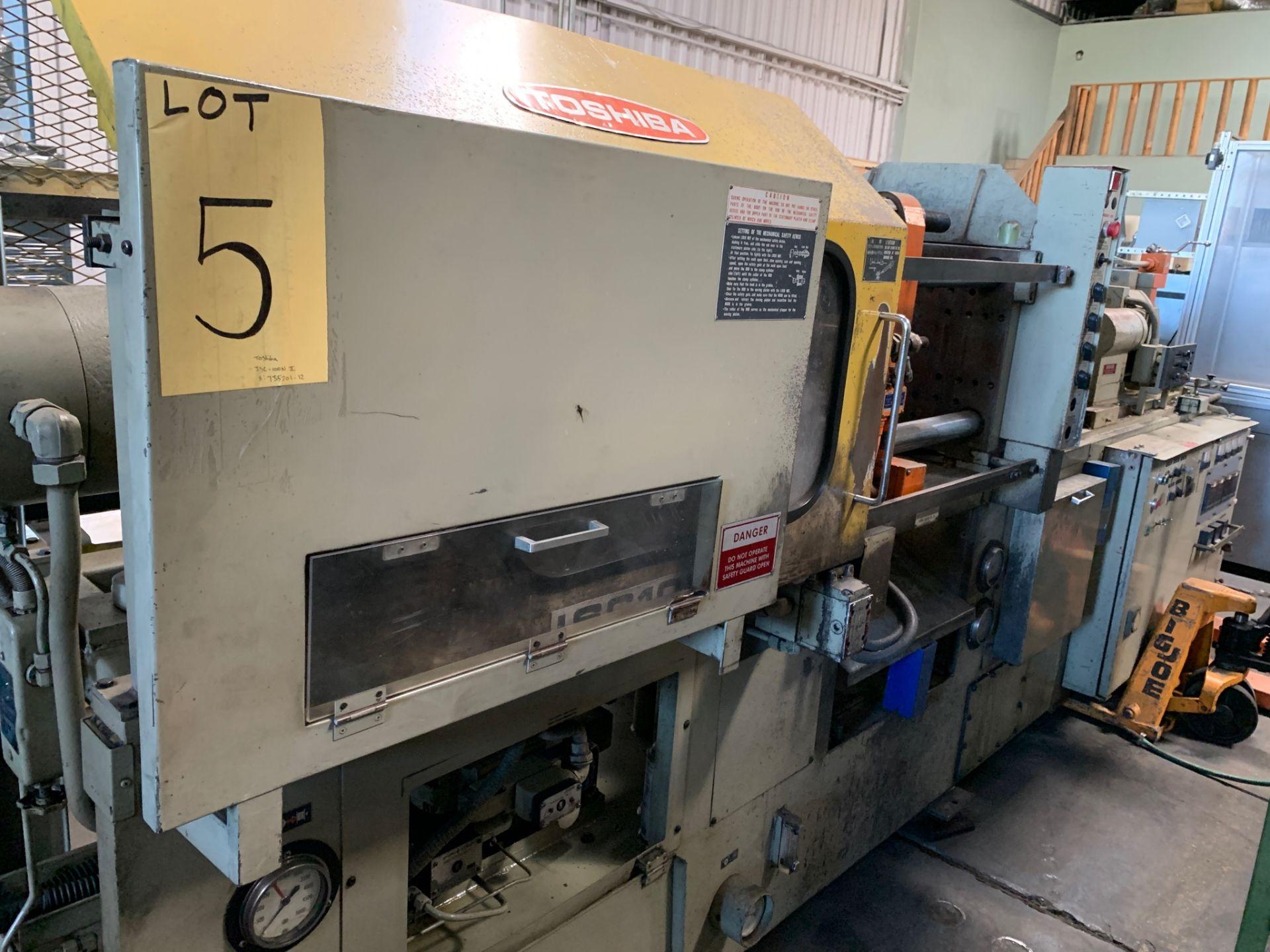 TOSHIBA ISC-100NII INJECTION MOLDING MACHINE