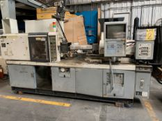55 TON JSW J55E INJECTION MOLDING MACHINE