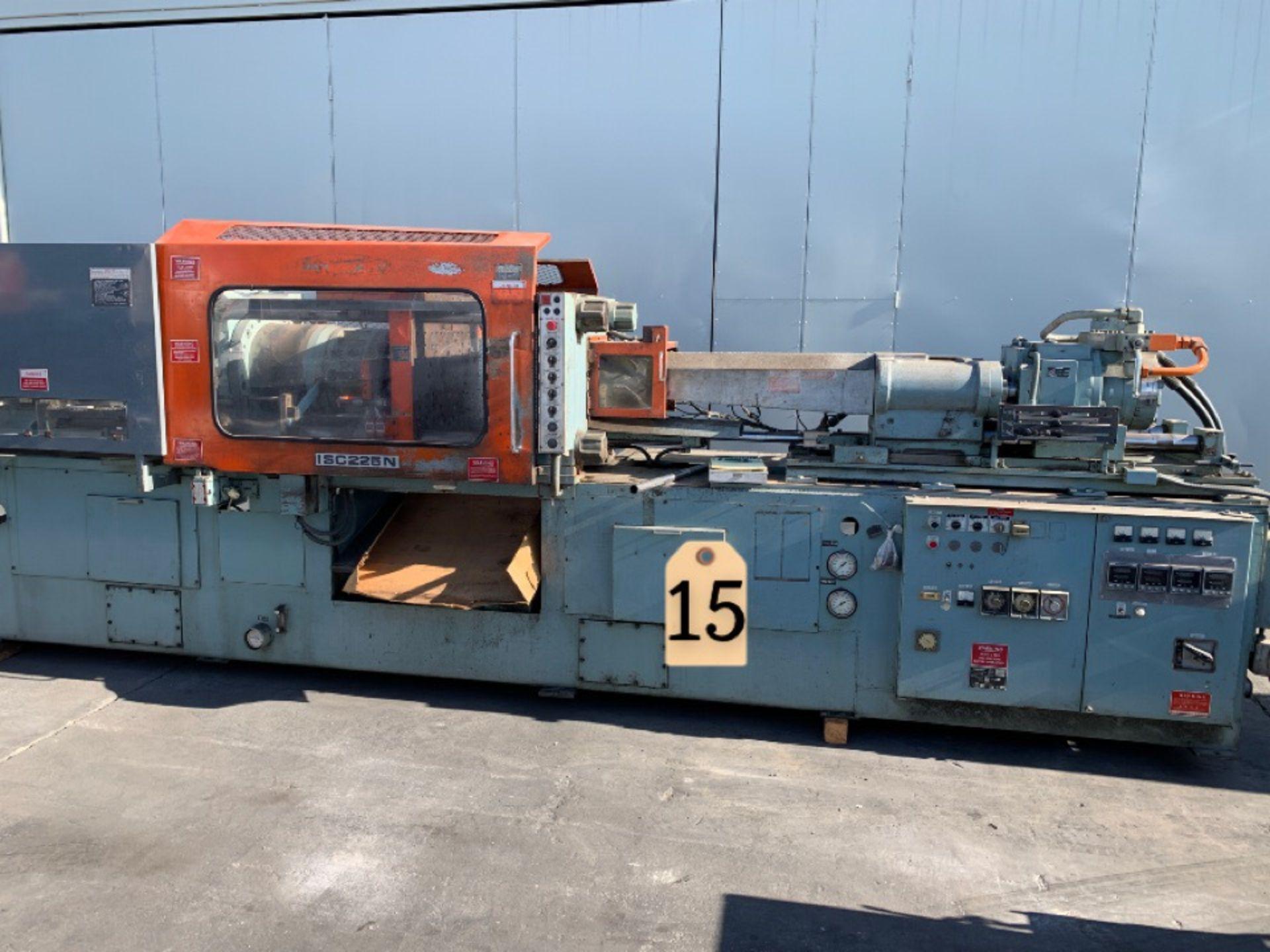 225 TON TOSHIBA ISC225N INJECTION MOLDING MACHINE