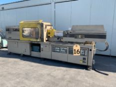 : TOSHIBA ISE 170 PLASTIC INJECTION MOLDER