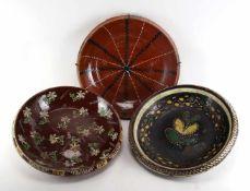 Drei Keramikgegenstände<