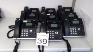 9 No. Yealink SIP-T41P VOiP Phones