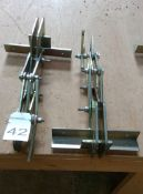 2 No. Able Lifting Equipment 250 Kg board lifting clamps