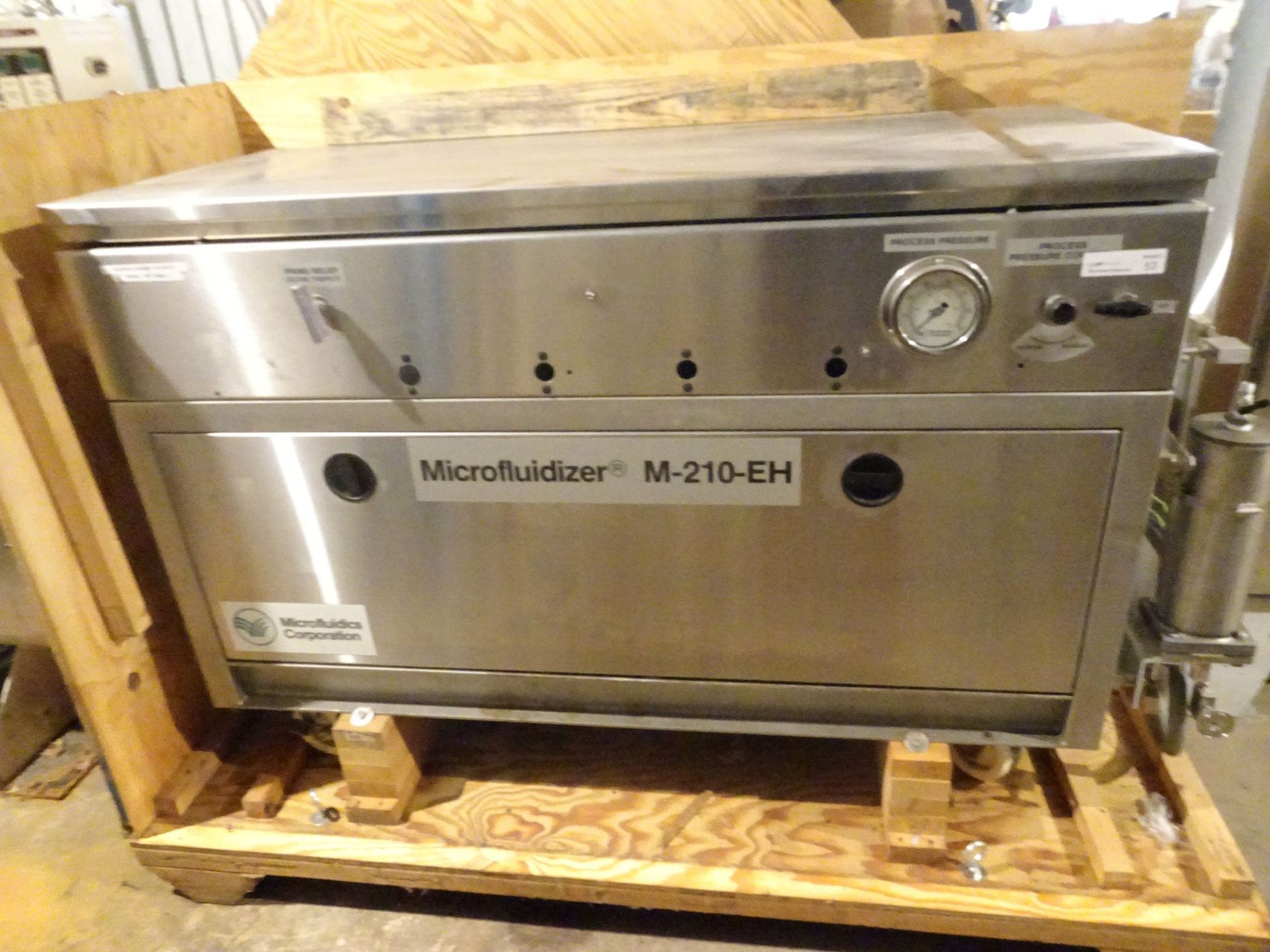 Lot 32 - Microfluidics Corp M-210-EH Shear Microfluidizer -