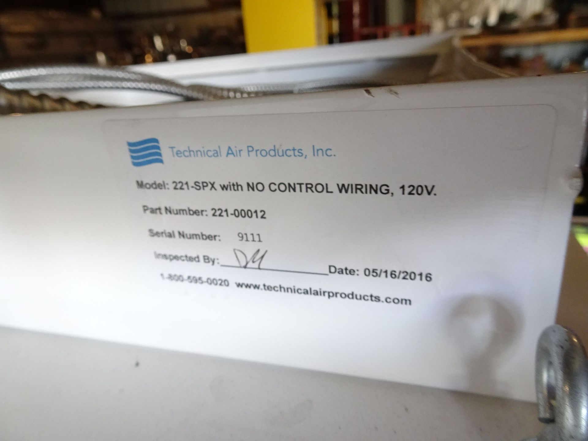 "Lot 7 - (7) Technical Air Products Inc 48"" x 24"" Downflow Ceiling Panels"