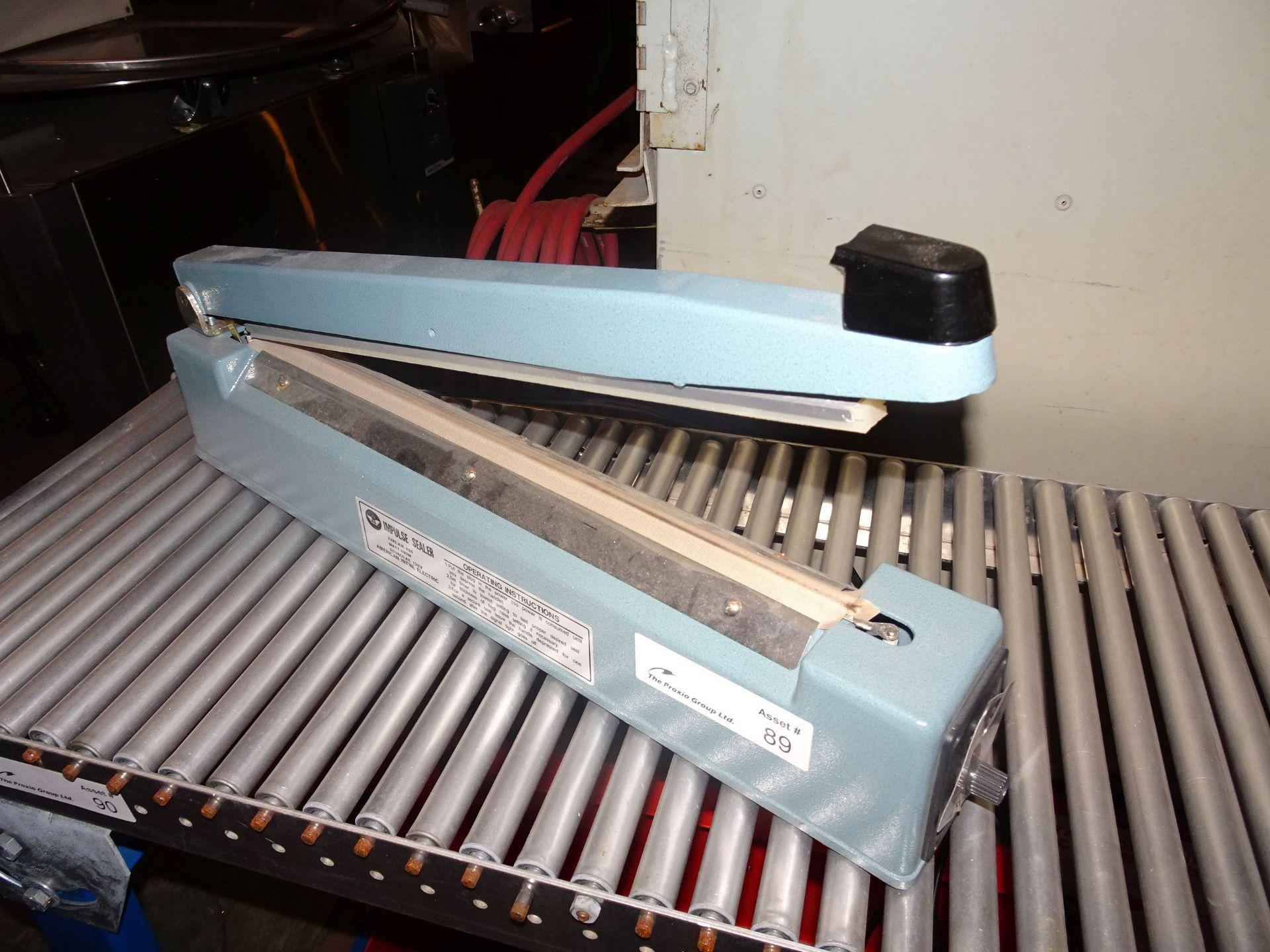 """Lot 3 - AIE Model AIE-400 16"""" Impulse Sealer"""